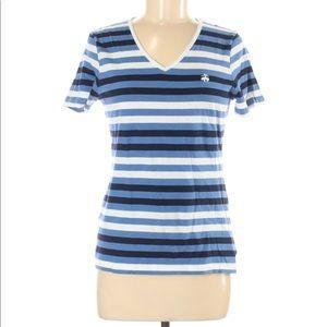 Brooks Brothers striped short sleeve tee MEDIUM